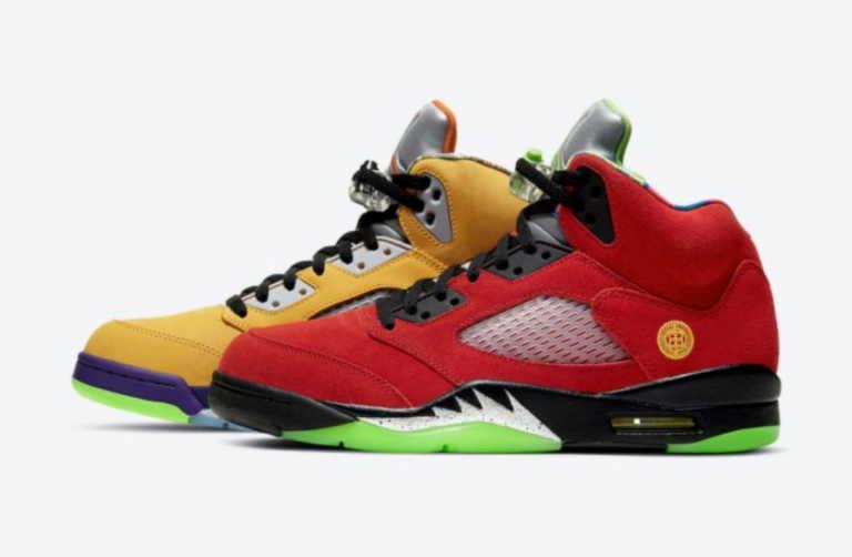 """Το νέο πολύχρωμο Air Jordan 5 """"What The"""" αναμένεται να γίνει sold-out!"""