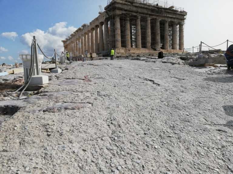 Ακρόπολη: Δηκτική απάντηση του υπουργείου Πολιτισμού για το τσιμέντο