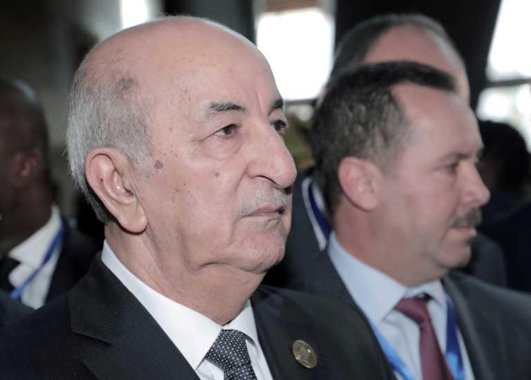 Κορονοϊός: Σε καραντίνα πέντε ημερών ο πρόεδρος της Αλγερίας