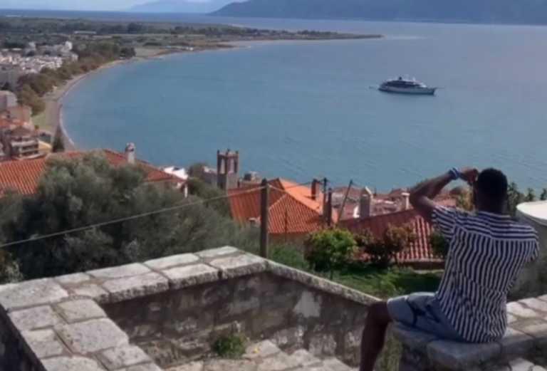 Διακοπές με πολυτελές σκάφος στην Ελλάδα κάνει ο Αντετοκούνμπο! Τα video από τη Ναύπακτο