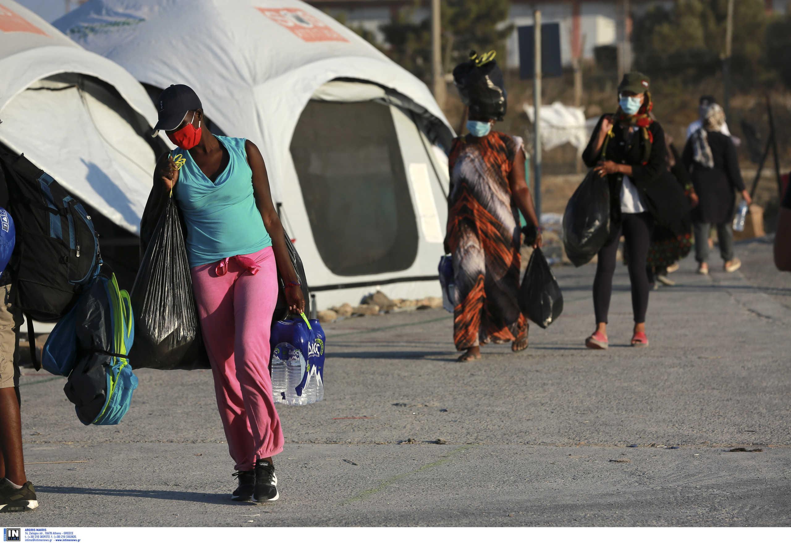 Προβλήματα από την κακοκαιρία στο κέντρο μεταναστών του Καρά Τεπέ