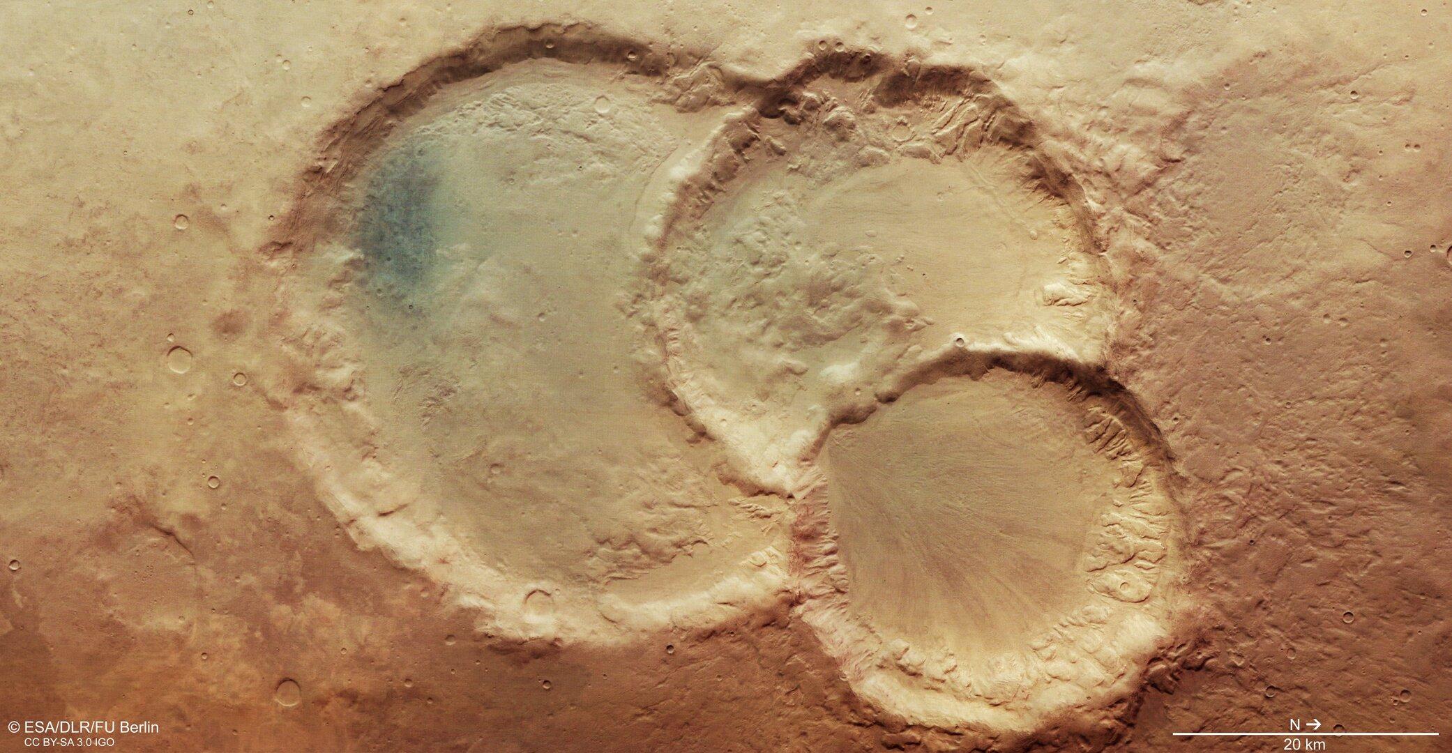 Άρης κρατήρας