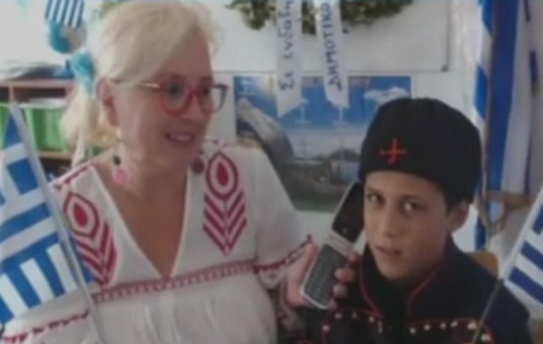 Αρκιοί: Ο μικρός Χρήστος μεγαλώνει αλλά συνεχίζει να συγκινεί! Τα λόγια του για την 28η Οκτωβρίου (Βίντεο)