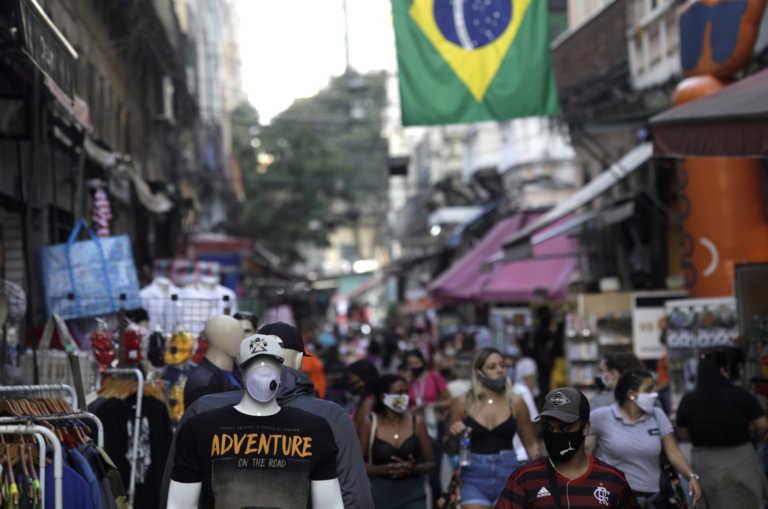 Βραζιλία: 691 νεκροί και πάνω από 37.500 νέα κρούσματα κορονοϊού