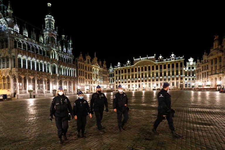 Κορονοϊός: Αυστηρότατα μέτρα στις Βρυξέλλες – Απαγόρευση κυκλοφορίας από τις 22.00 μέχρι τις 06.00