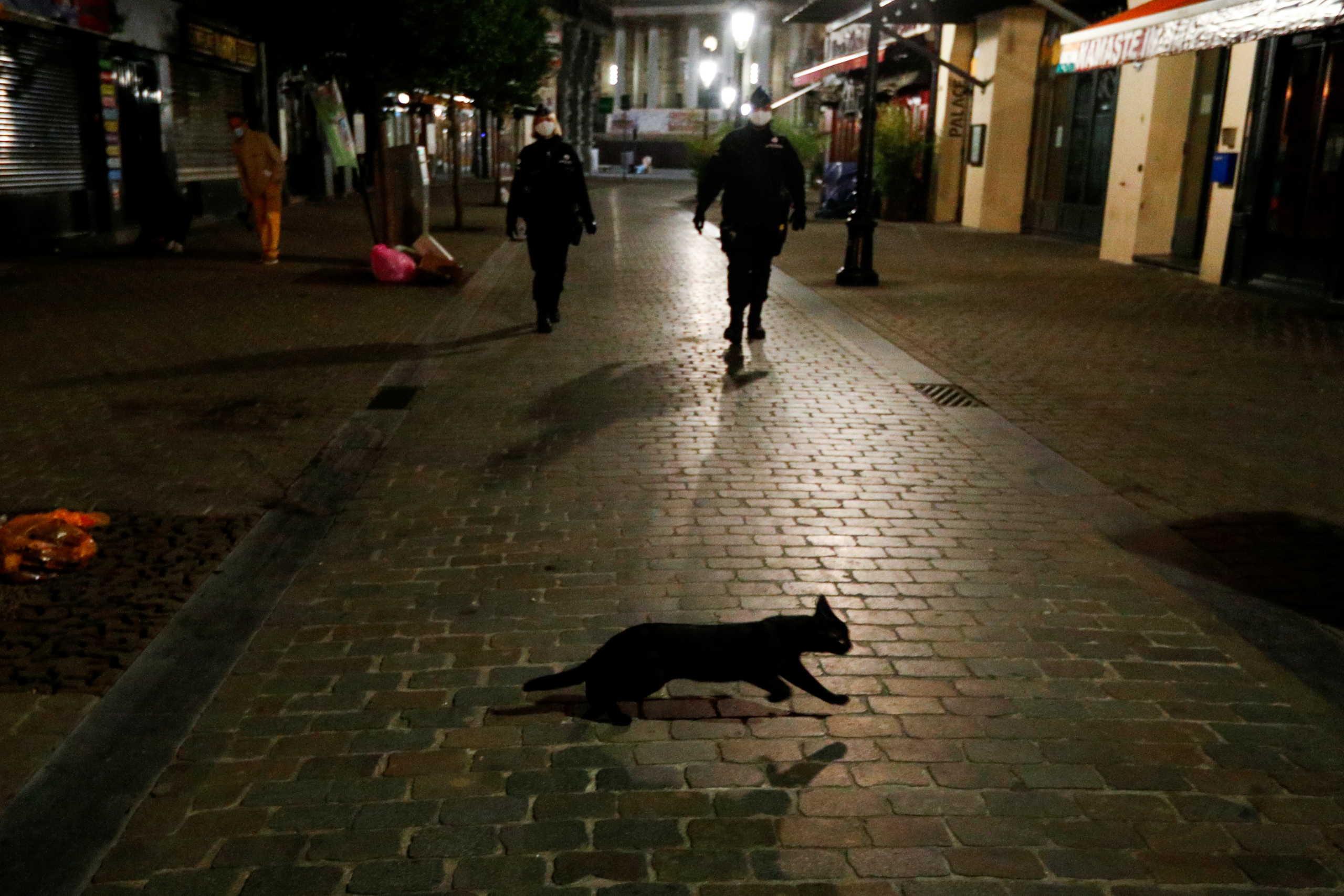 Περιοριστικά μέτρα για την έξαρση κρουσμάτων κορονοϊού στις Βρυξέλλες