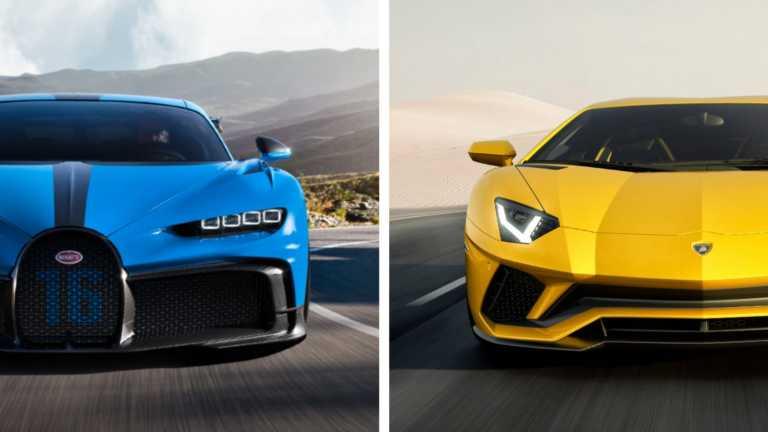 Το Volkswagen Group θα βάλει πωλητήριο στις Lamborghini και Bugatti