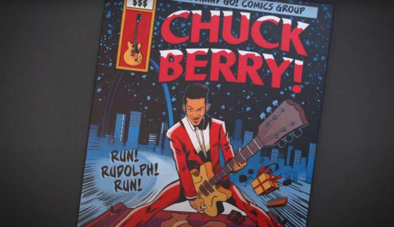 Μετά από 60 χρόνια η χριστουγεννιάτικη επιτυχία του Chuck Berry «Run Rudolph Run» απέκτησε βιντεοκλίπ