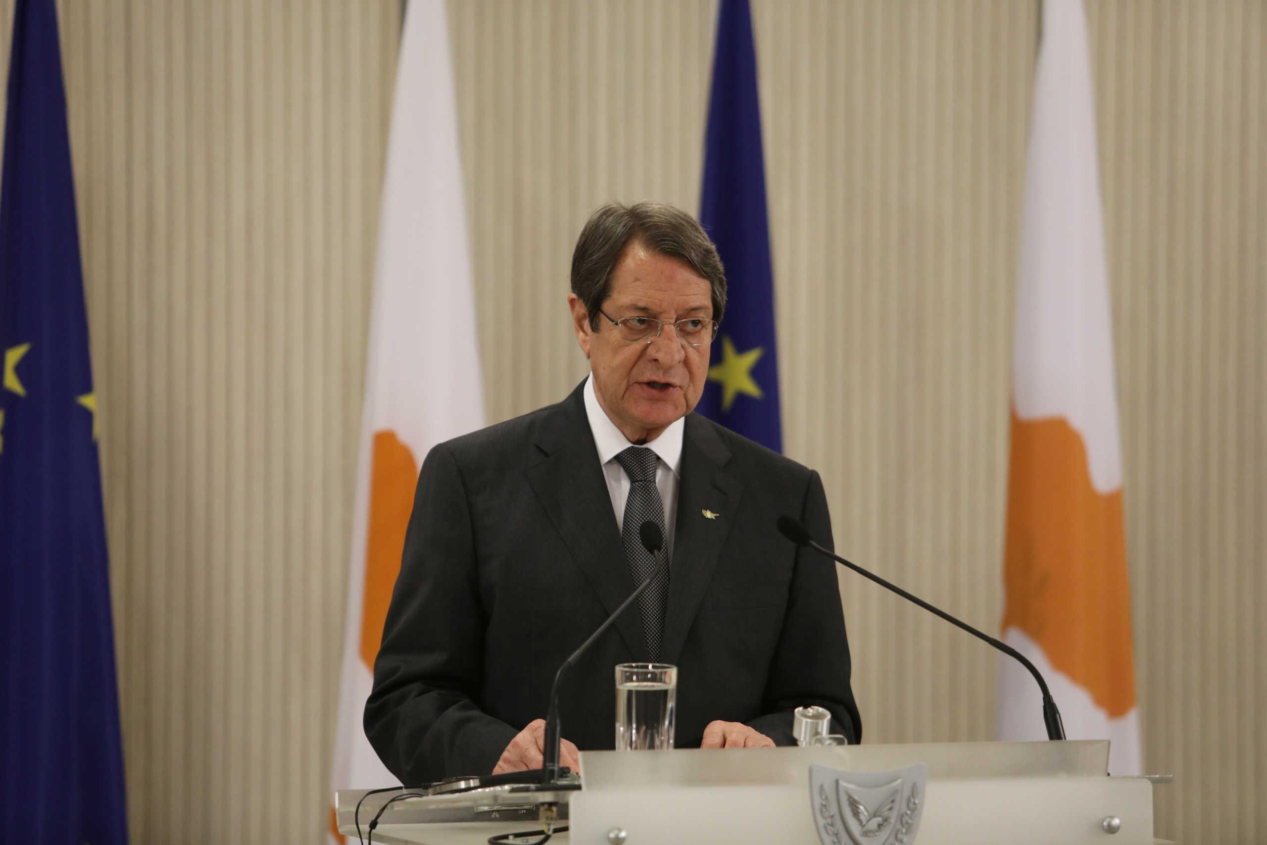 Κύπρος: Ικανοποιημένος ο Αναστασιάδης από τα συμπεράσματα της Συνόδου Κορυφής