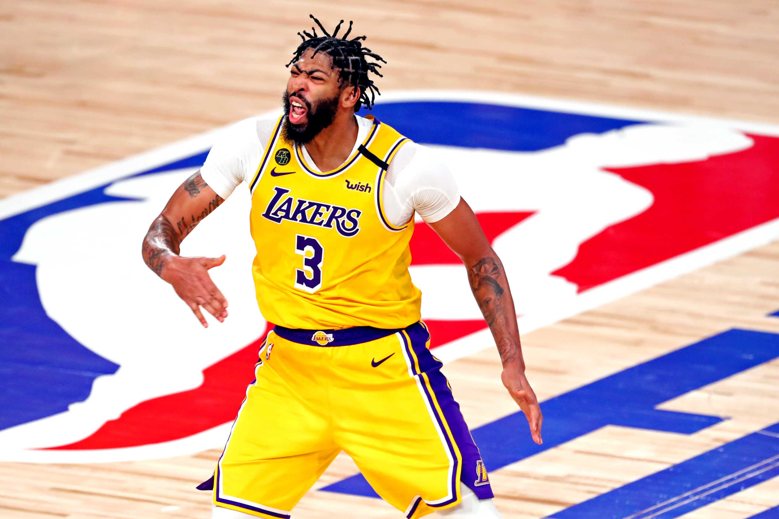 NBA – Λέικερς: Πάνω από ένα μήνα εκτός ο Άντονι Ντέιβις