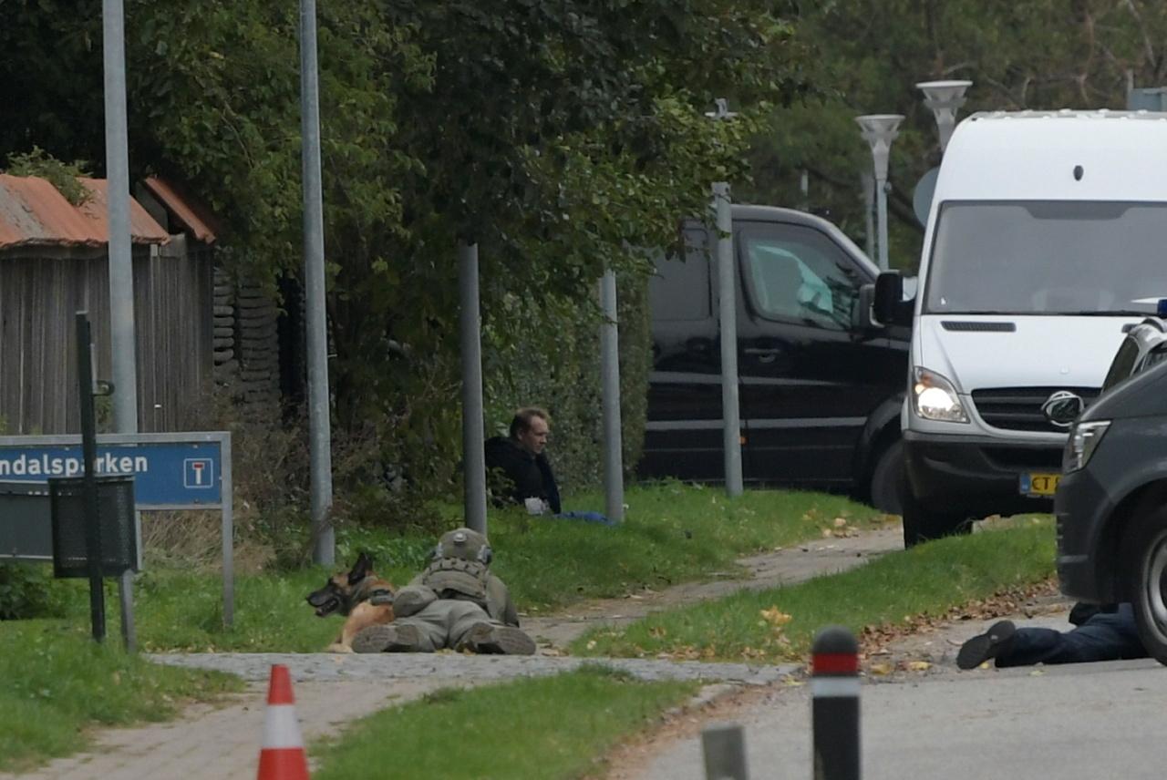 αστυνομικοί στη Δανία