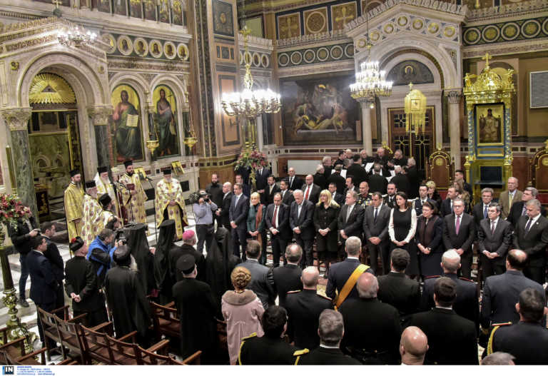28η Οκτωβρίου: Απόντες από τη Δοξολογία ο Μητσοτάκης και μέλη της κυβέρνησης