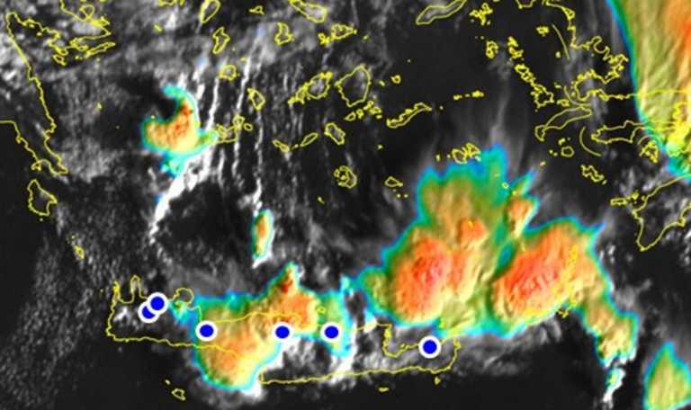 Καιρός: Έρχεται νέο κύμα κακοκαιρίας σε Κυκλάδες, Κρήτη και Δωδεκάνησα! Δείτε τις εικόνες από δορυφόρο