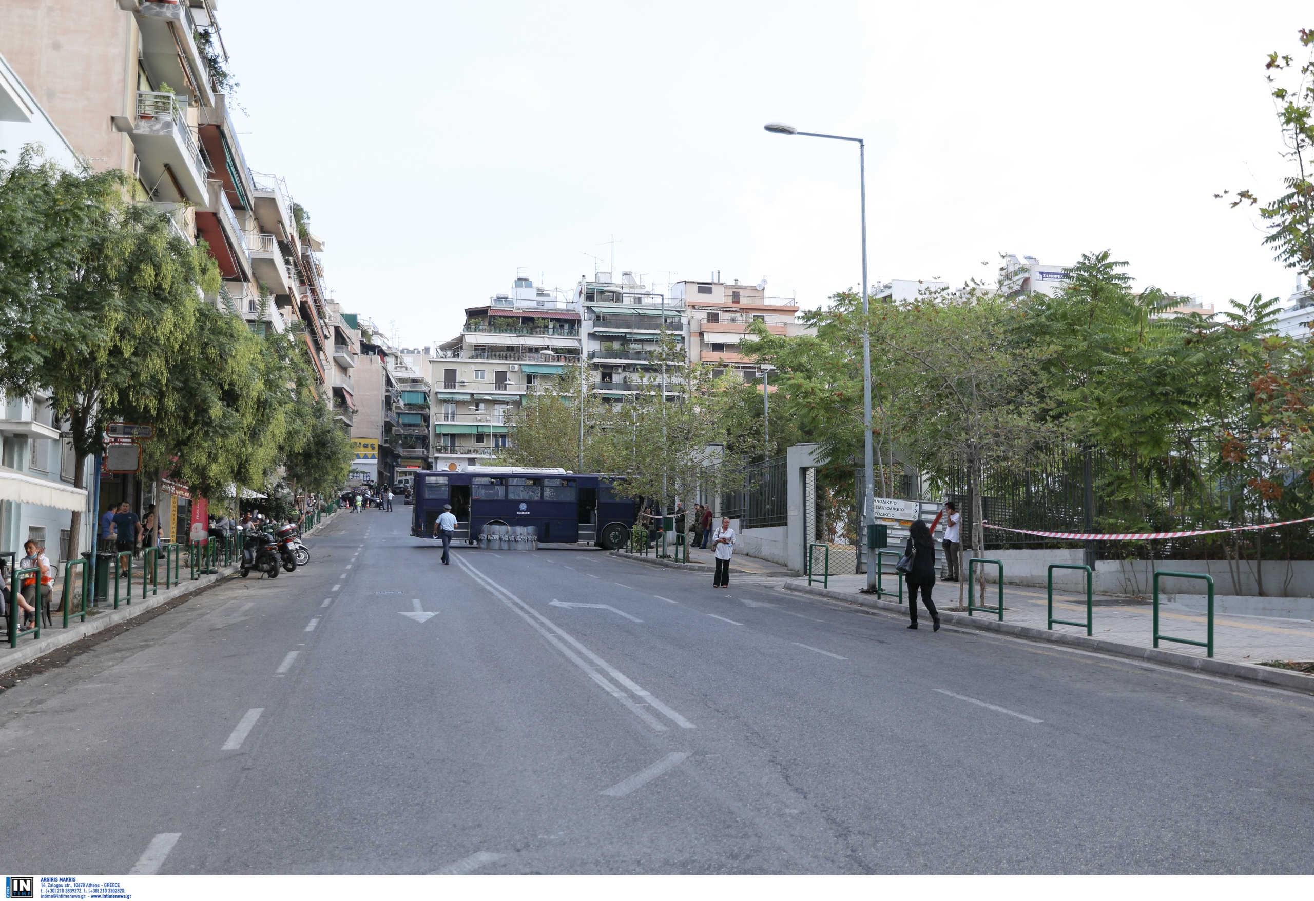 Κυκλοφοριακές ρυθμίσεις και αύριο στην περιοχή του Εφετείου Αθηνών