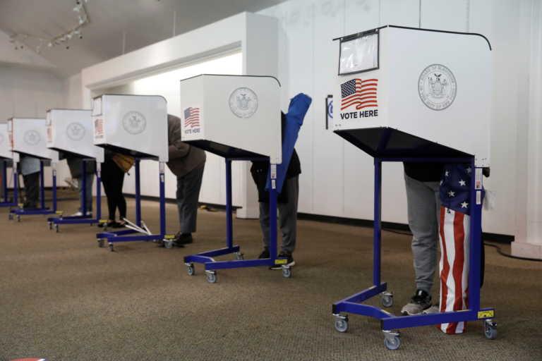 Αμερικανικές εκλογές: 70 εκατ. άνθρωποι έχουν ψηφίσει ήδη