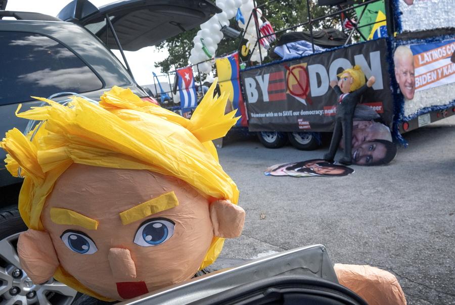 υποστηρικτές του Μπάιντεν για τις αμερικάνικες εκλογές