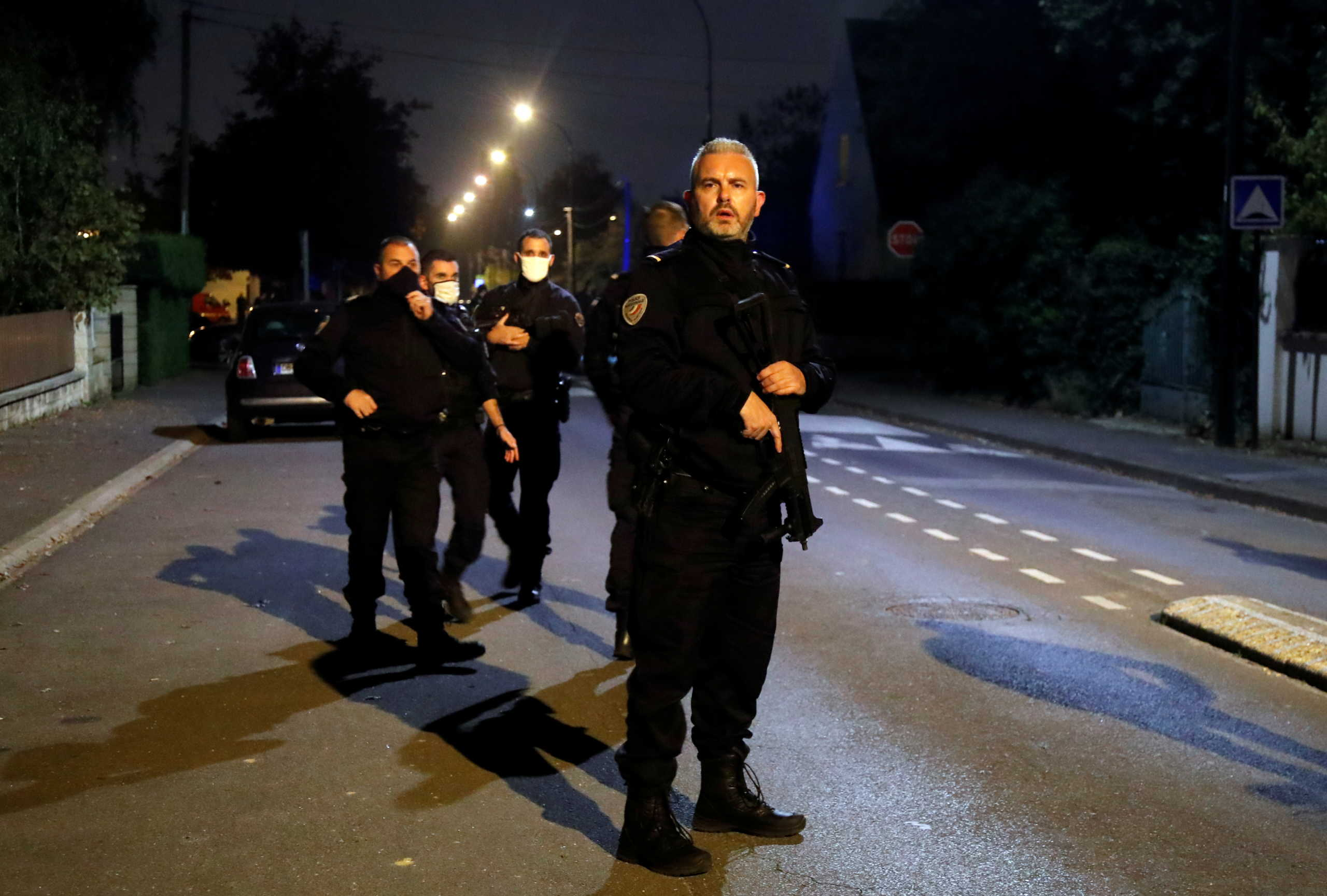 αστυνομικός στη Γαλλία