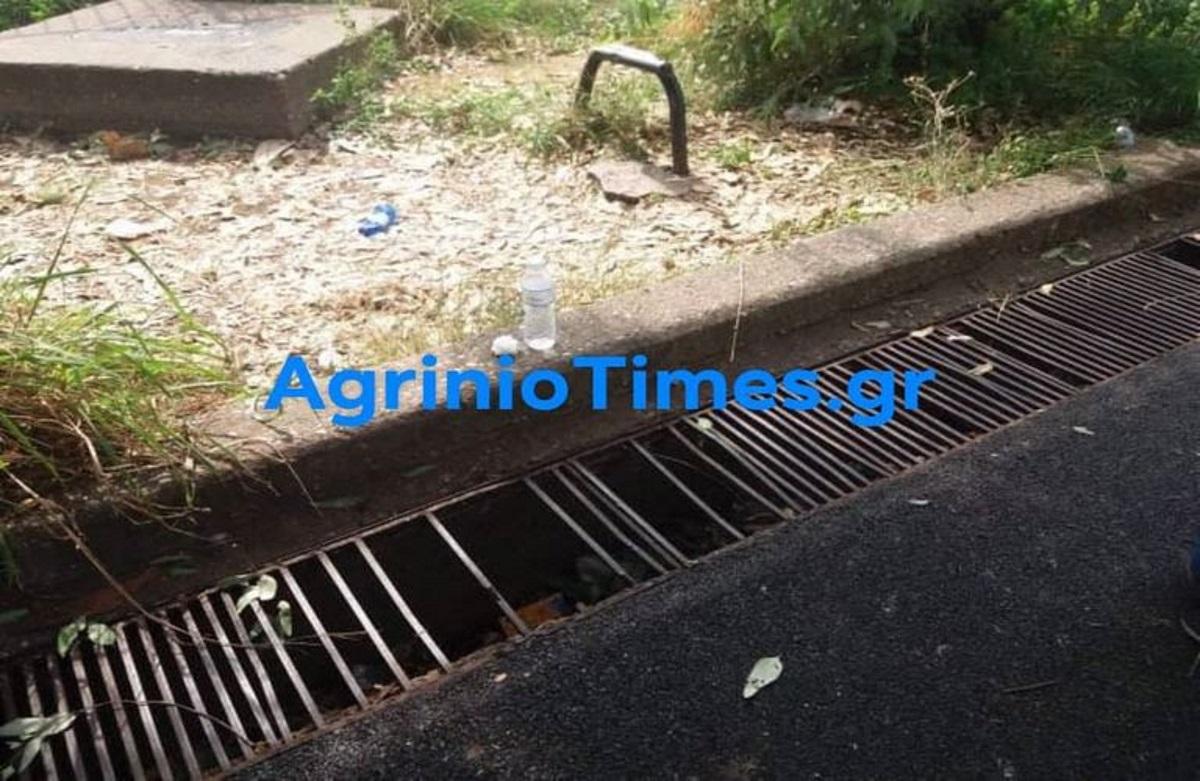 Αγρίνιο: Κοριτσάκι πιάστηκε σε φρεάτιο σχολείου (pics)