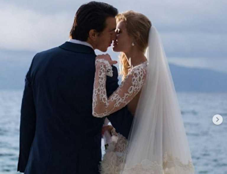 Εκατερίνα Ριμπολόβλεβα: Η πρώτη φωτογραφία της νέας ιδιοκτήτριας του Σκορπιού από τον γάμο της στο νησί του Ωνάση