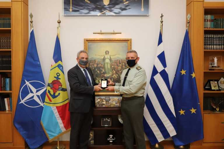 ΓΕΕΘΑ: Συνάντηση του Αρχηγού με τον Σύμβουλο Εθνικής Ασφάλειας του Πρωθυπουργού