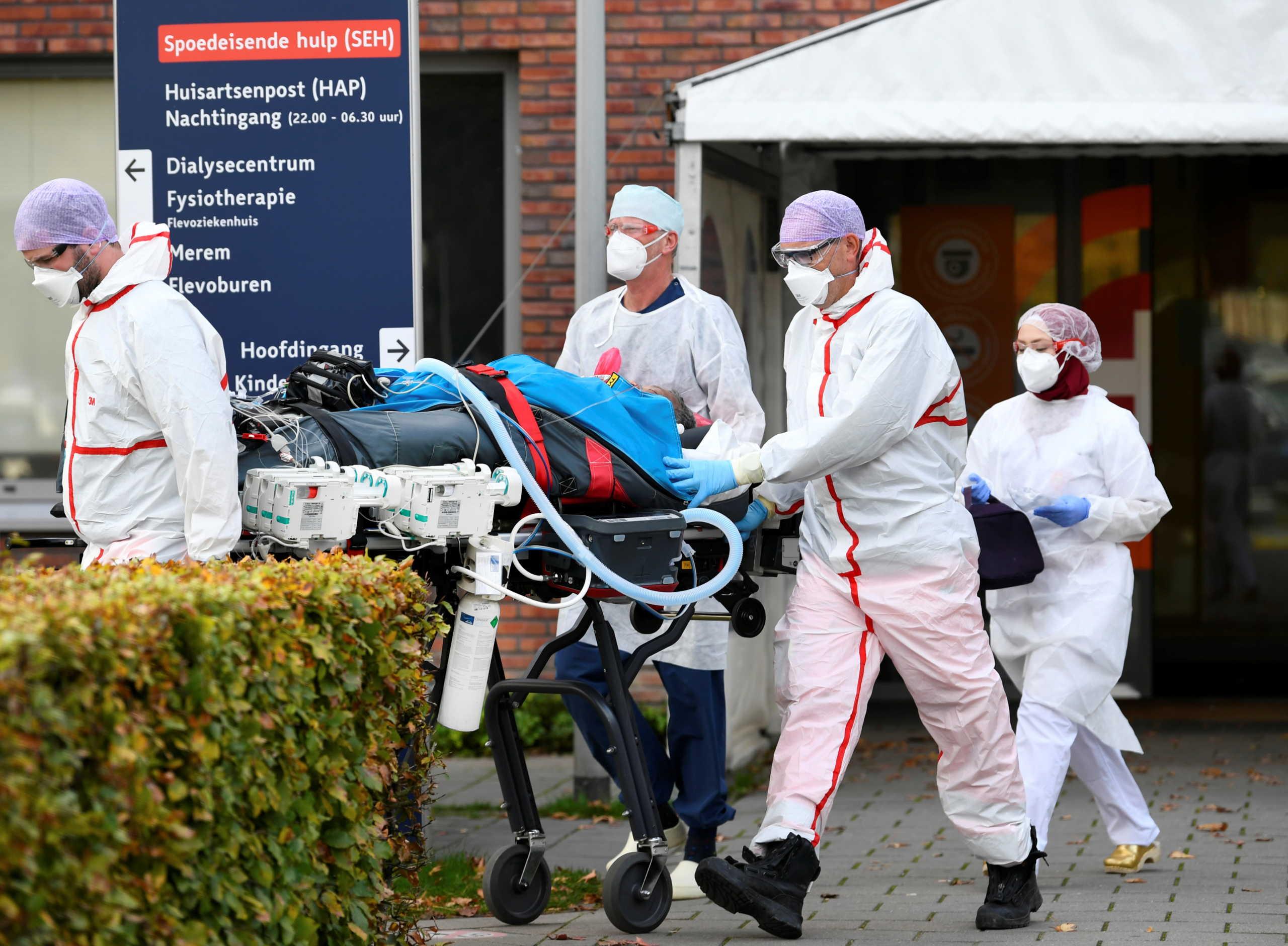Κορονοϊός: Πιέζεται το σύστημα υγείας στη Γερμανία – Αυξάνονται τα θύματα της πανδημίας