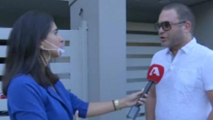 Ο Αριστομένης Γιαννόπουλος μιλά για το χωρισμό του από την Αλεξάνδρα Παναγιώταρου