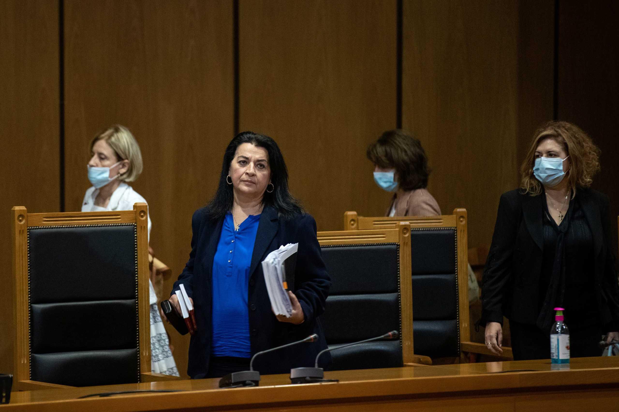 Η πρόεδρος του δικαστηρίου για τη δίκη της Χρυσής Αυγής Μαρία Λεπενιώτη