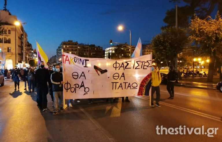 Πορεία για τον Ζακ Κωστόπουλο στη Θεσσαλονίκη