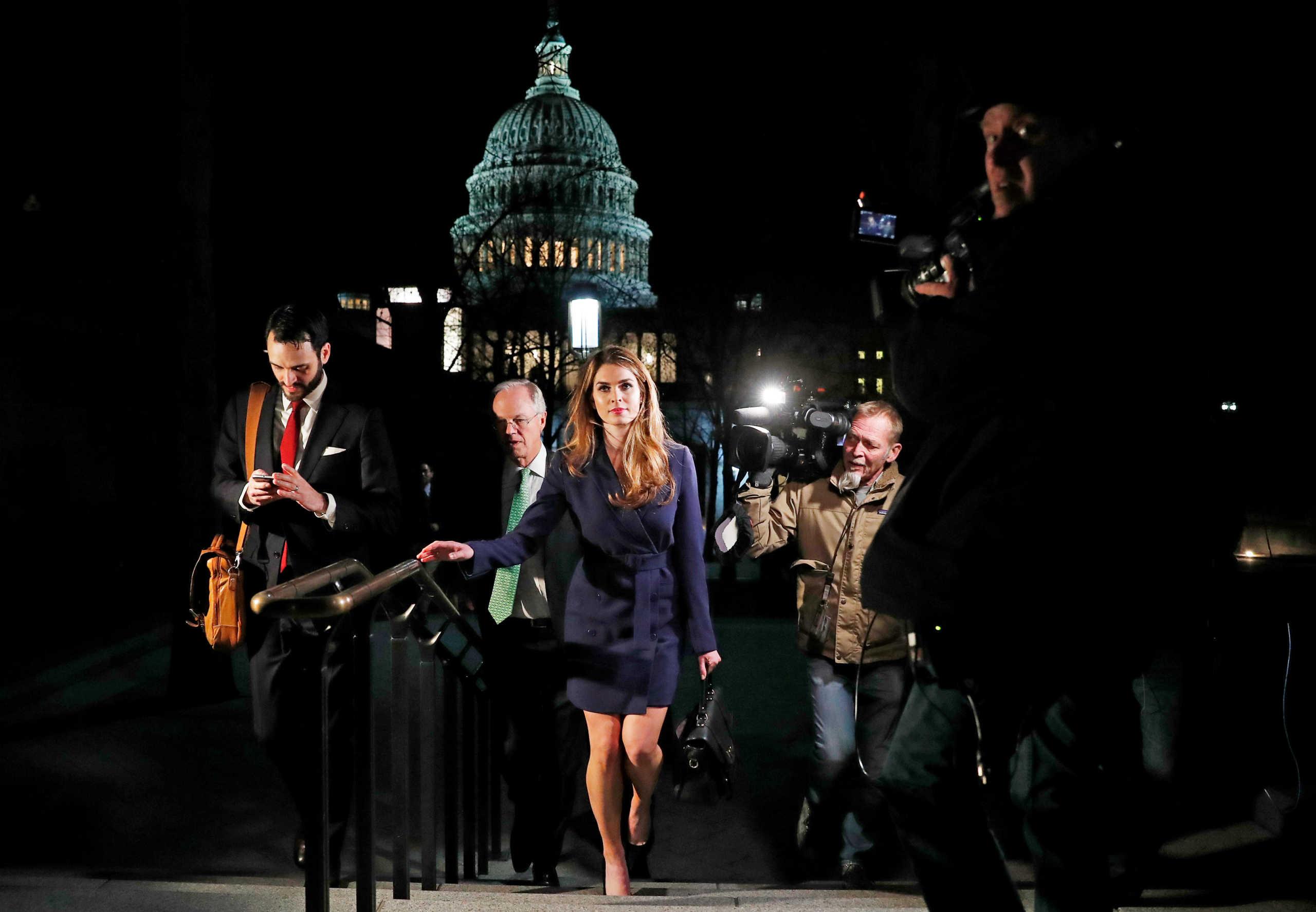 Χόουπ Χικς: Ποια είναι η γυναίκα που… κόλλησε κορονοϊό τον Τραμπ