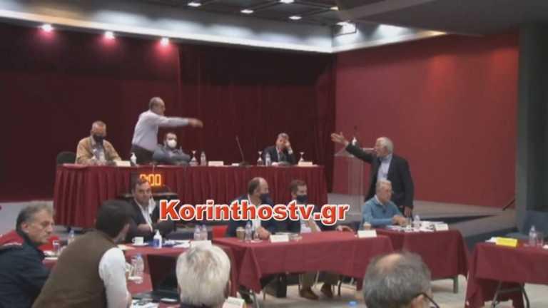 Χαμός! Άγριος καβγάς του νυν και του πρώην Περιφερειάρχη Πελοποννήσου (video)