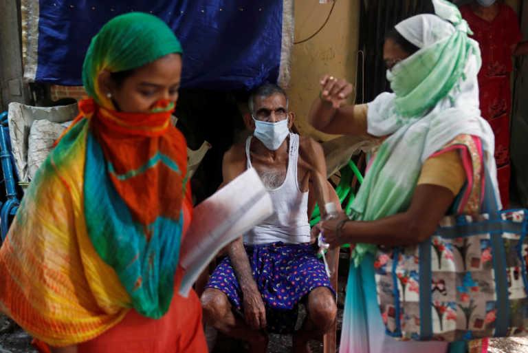 Ινδία: 44.376 κρούσματα και 481 θάνατοι από κορονοϊό την τελευταία ημέρα
