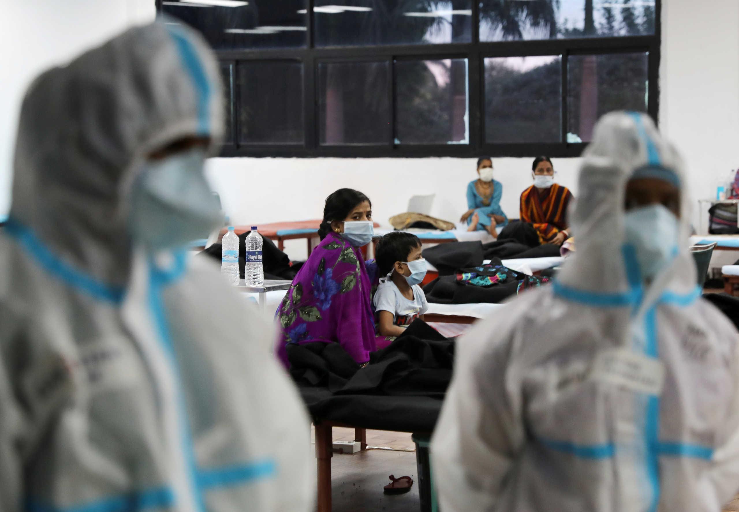 Κορονοϊός: Πάνω από 8,4 εκατομμύρια κρούσματα στην Ινδία