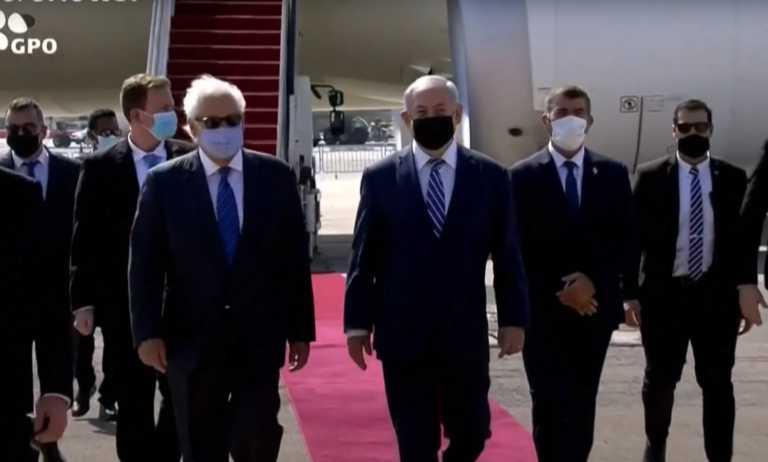 Ιστορική στιγμή! Έφτασε στο Ισραήλ η πρώτη επίσημη αντιπροσωπεία των ΗΑΕ