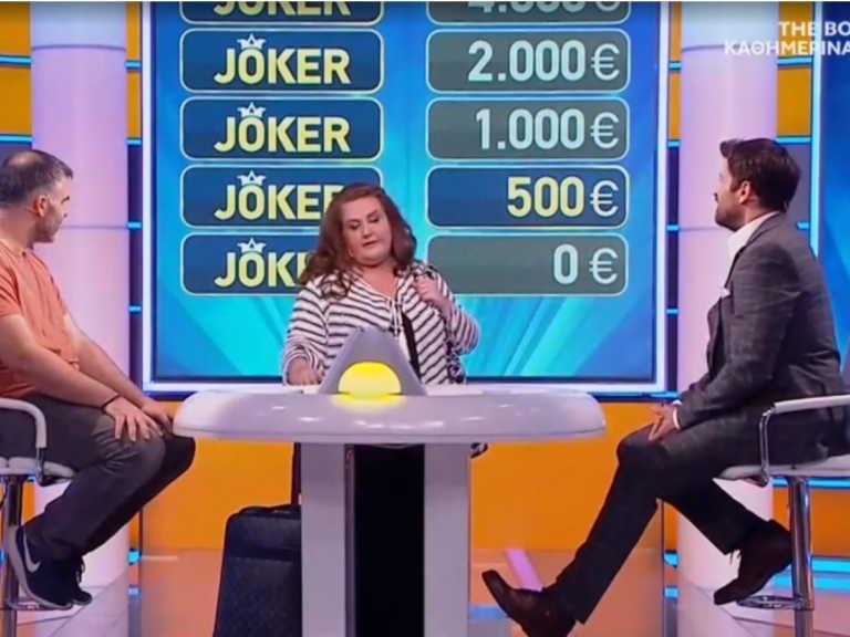 """Joker: Η Σοφία Βογιατζάκη """"αποχαιρέτησε"""" τον Αλέξη Γεωργούλη"""