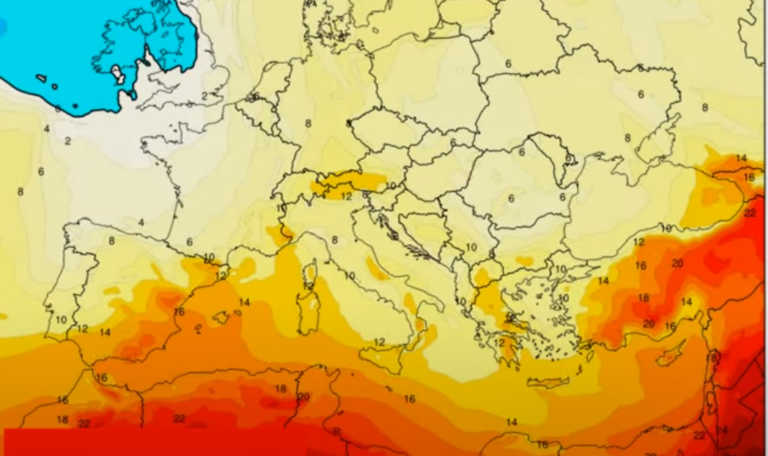 """Καιρός: Θερμές αέριες μάζες εισβάλλουν στην Ελλάδα! Πότε θα """"σκαρφαλώσει"""" ο υδράργυρος (video)"""