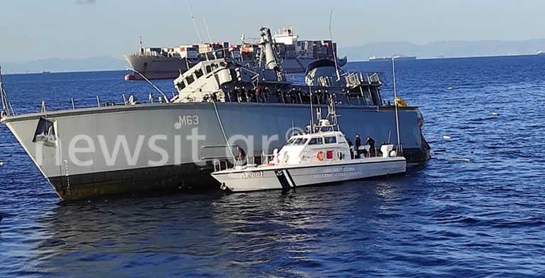 «Από θαύμα δεν θρηνήσαμε θύματα! Το εμπορικό πλοίο «ανέβηκε» πάνω στο «Καλλιστώ»
