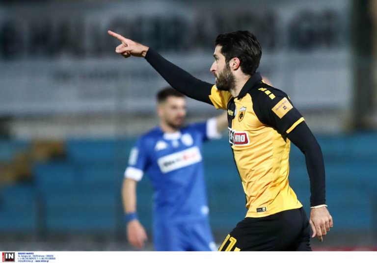 ΠΑΣ Γιάννινα – ΑΕΚ 0-1 LIVE: Ακυρώνεται το γκολ των γηπεδούχων
