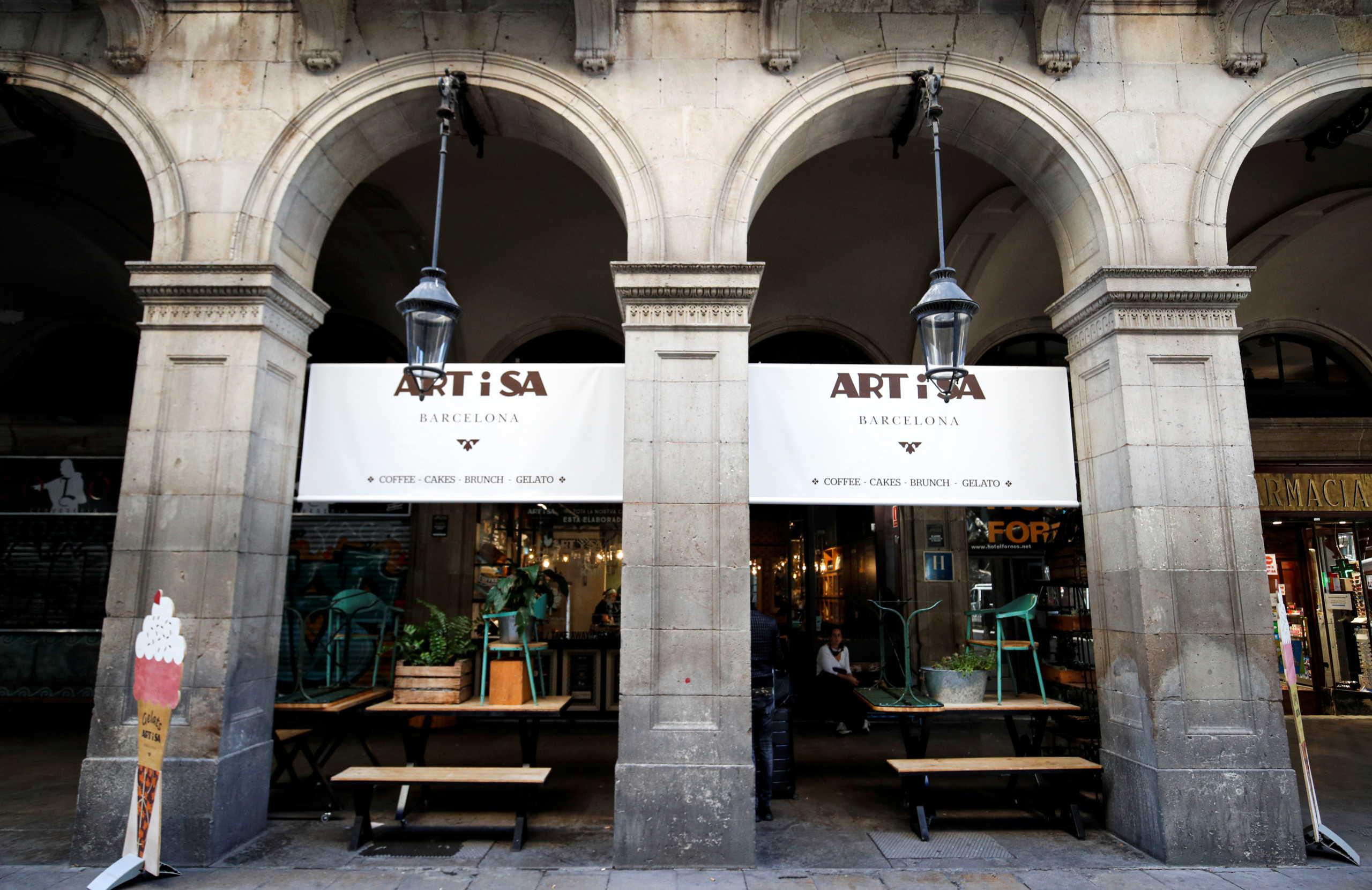 Κλειστά καταστήματα λόγω κορονοϊού στην Καταλονία