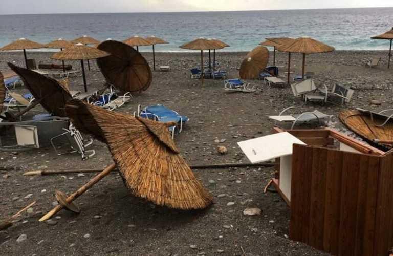 Κίρκη: Εικόνες καταστροφής στα Χανιά (pics)