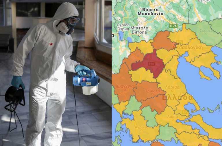 """Κορονοϊός: Όλα τα νέα μέτρα για τις """"κόκκινες"""" και """"πορτοκαλί"""" περιοχές – Έτσι θα ζουν από την Παρασκευή οι κάτοικοι"""