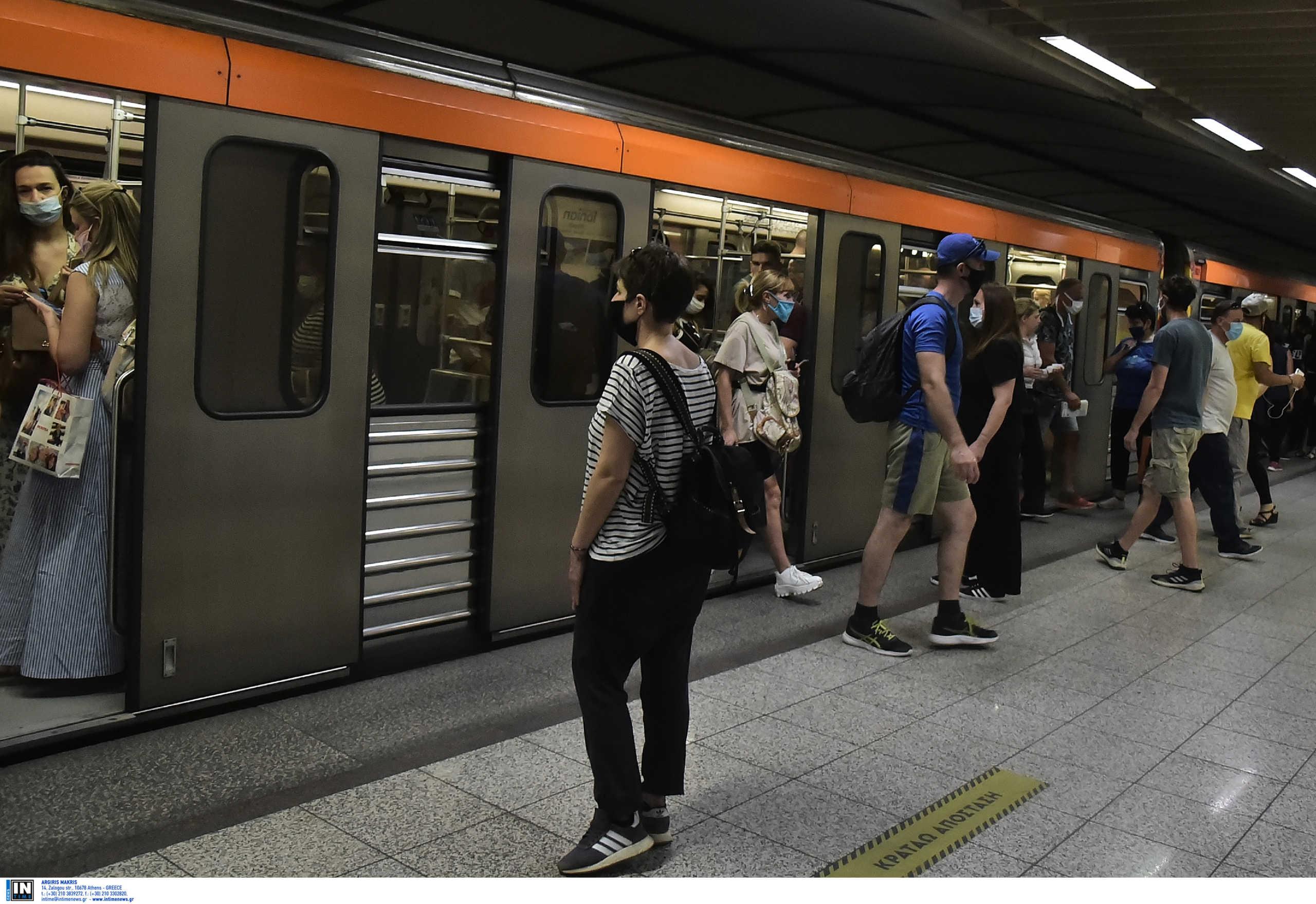Κορονοϊός: Θετικοί δέκα εργαζόμενοι στο μετρό