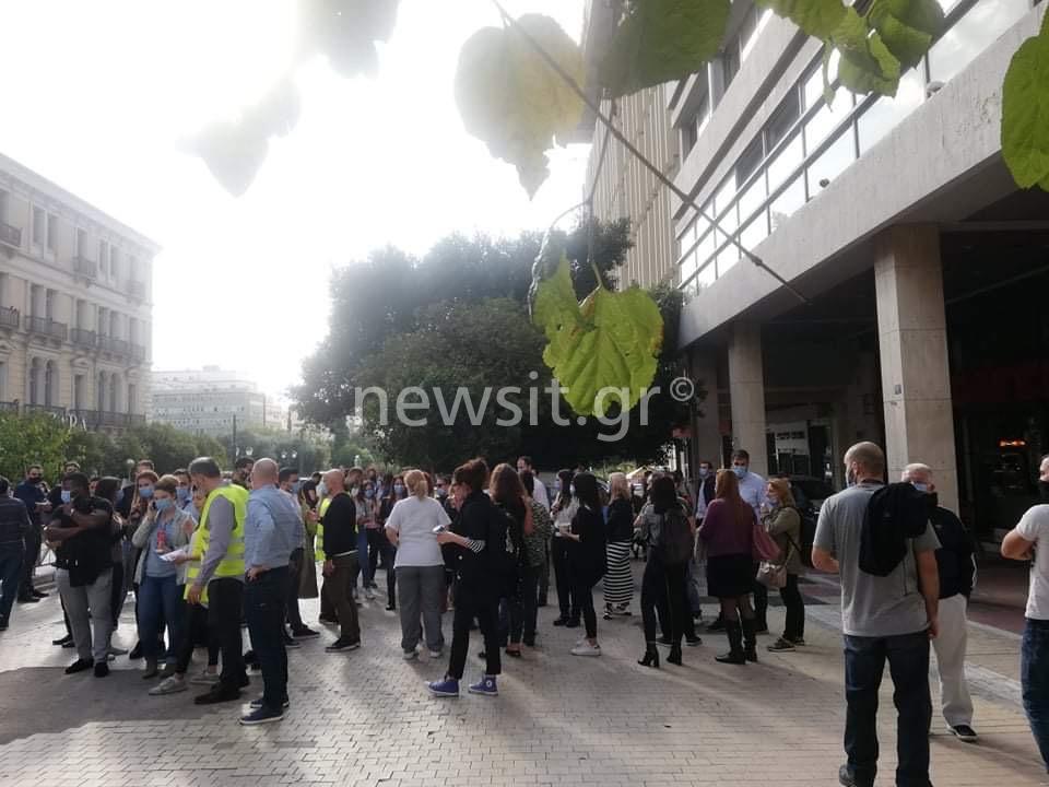 σεισμός Αθήνα κόσμος στους δρόμους