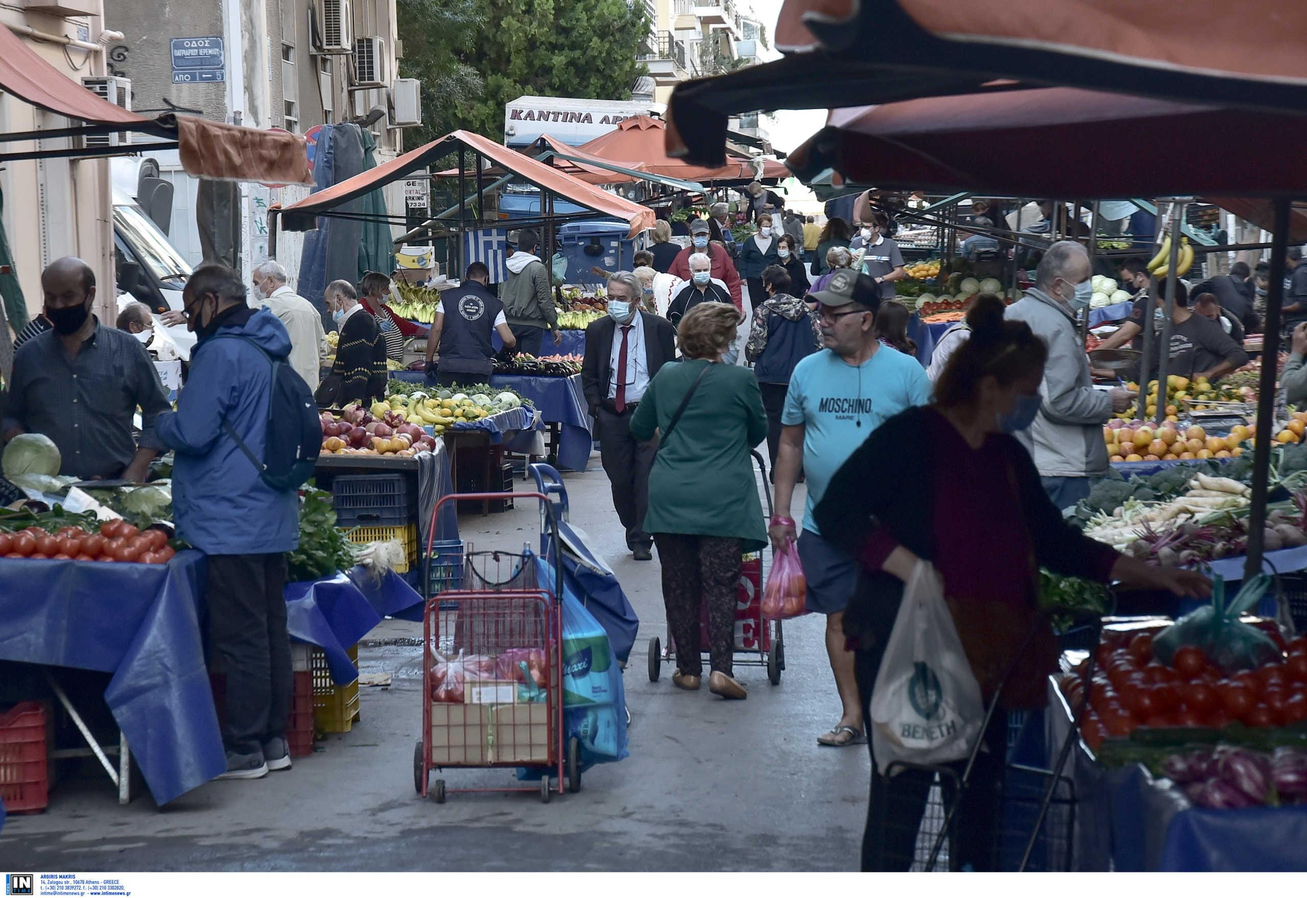 Λαϊκές αγορές: Αντιδράσεις για την αναστολή λειτουργίας τα Σαββατοκύριακα