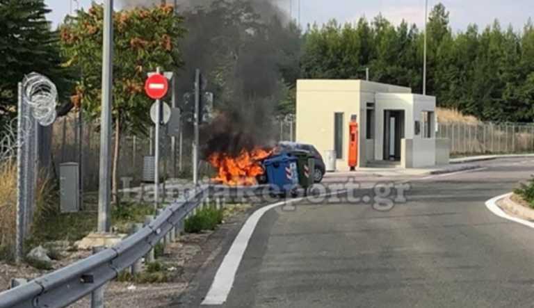 Φθιώτιδα: Ο τρόμος που έζησε στο τιμόνι μέσα σε μια φωτογραφία! Η κίνηση που έκανε την πιο κρίσιμη στιγμή