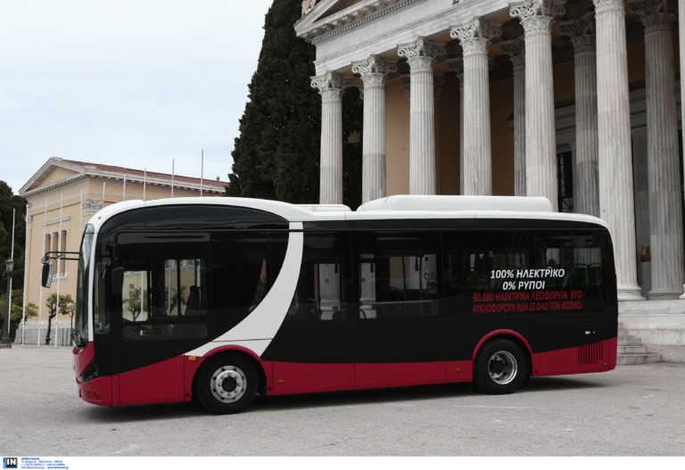 Στους δρόμους αύριο και άλλο ηλεκτροκίνητο λεωφορείο – Ποιο δρομολόγιο θα κάνει
