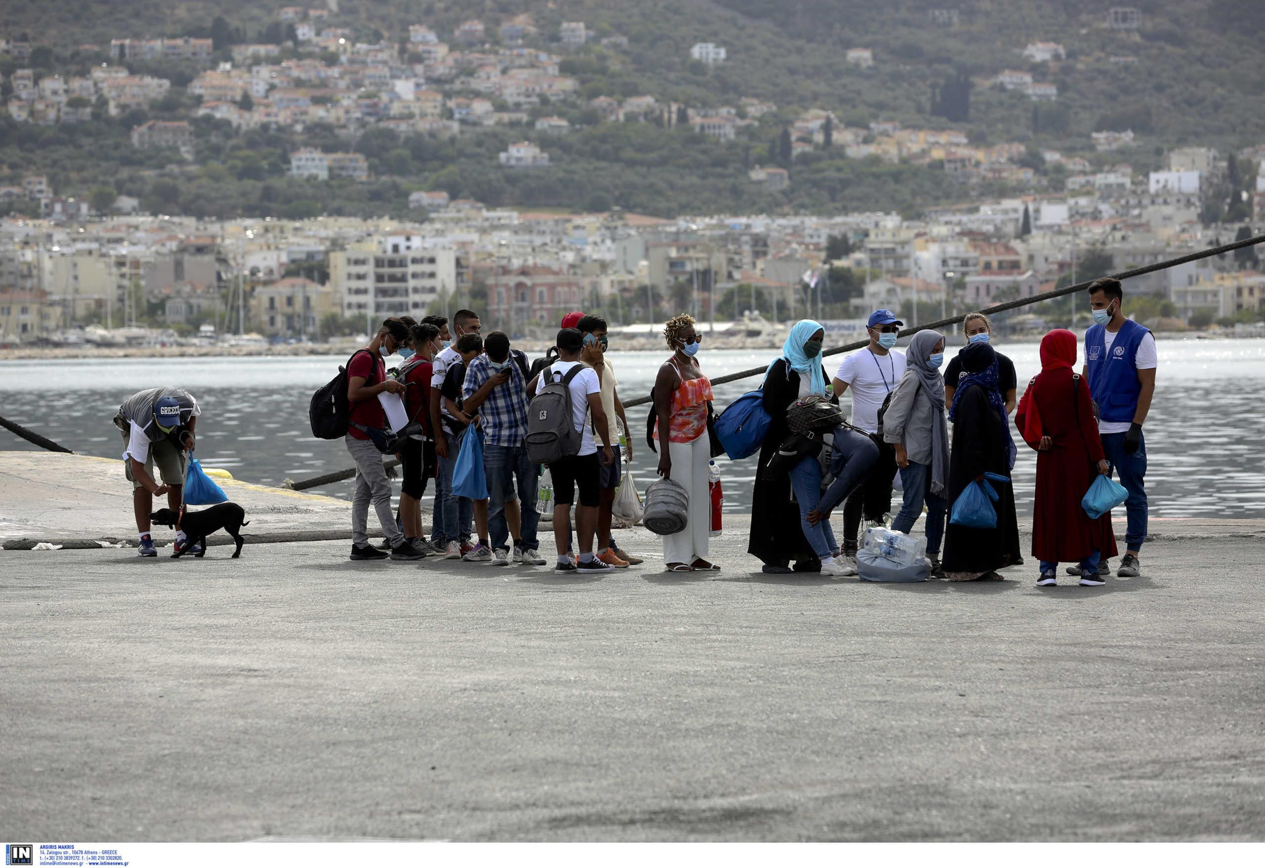 Λέσβος: 850 πρόσφυγες και μετανάστες αναχωρούν για δομές στην ενδοχώρα