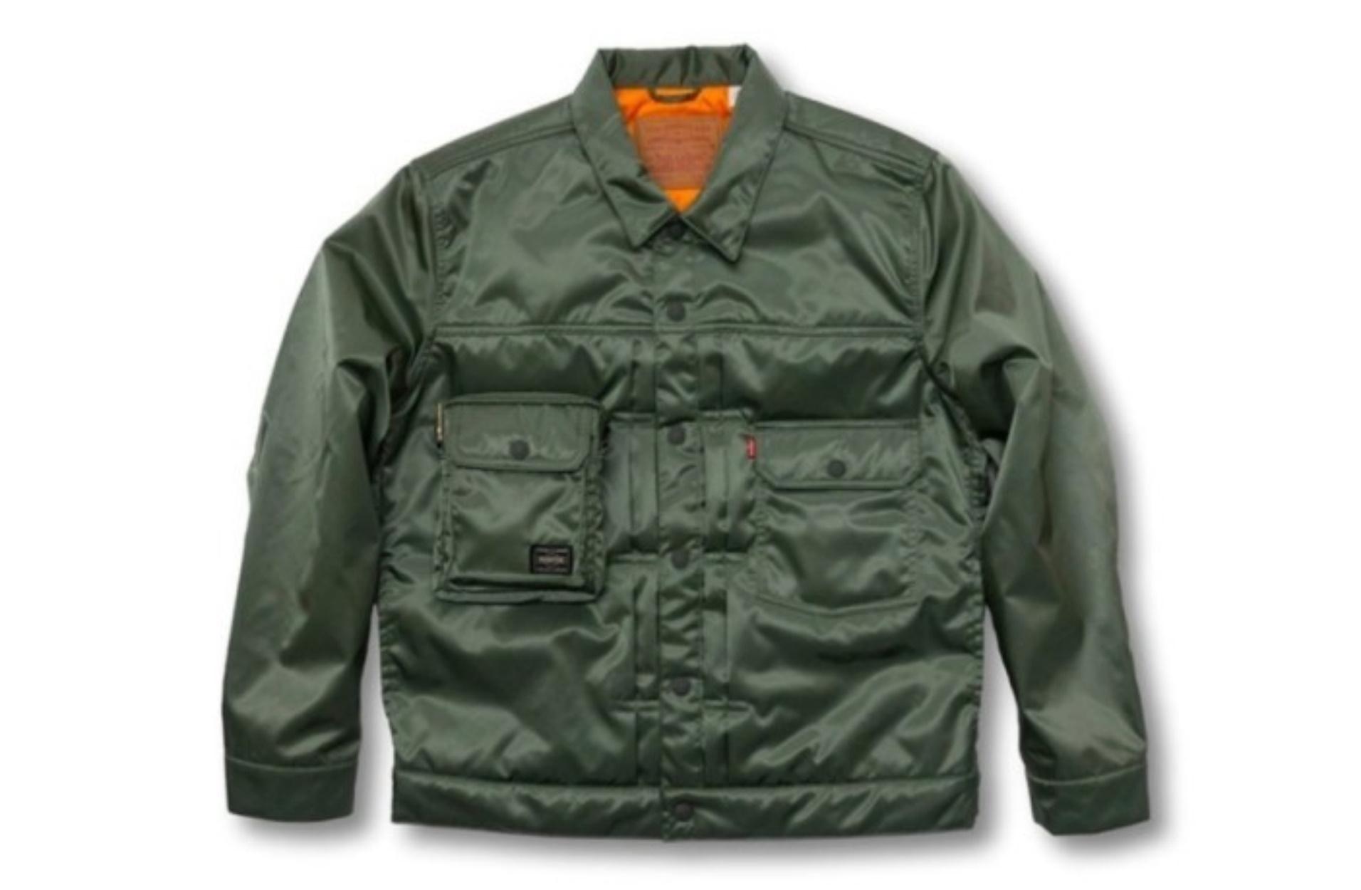 Ένα απίστευτο jacket από την συνεργασία της Levi's με την PORTER