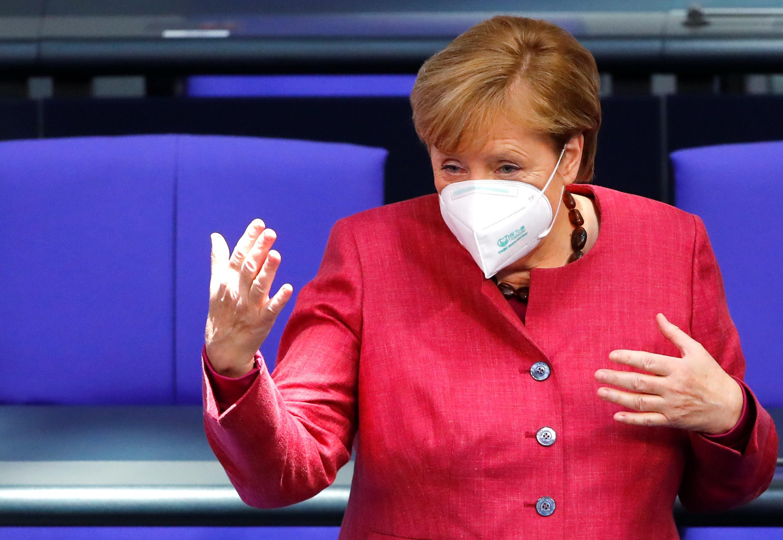 Κορονοϊός: Η Μέρκελ «βλέπει» lockdown στη Γερμανία έως τον Απρίλιο!
