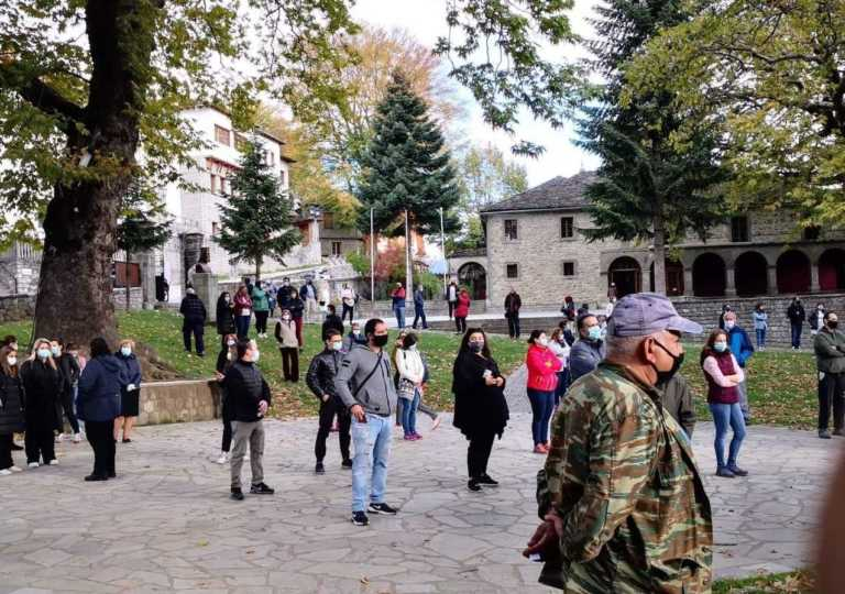 """Μέτσοβο: 5 """"θετικούς"""" έβγαλαν τα μαζικά τεστ κορονοϊού στο Μέτσοβο"""