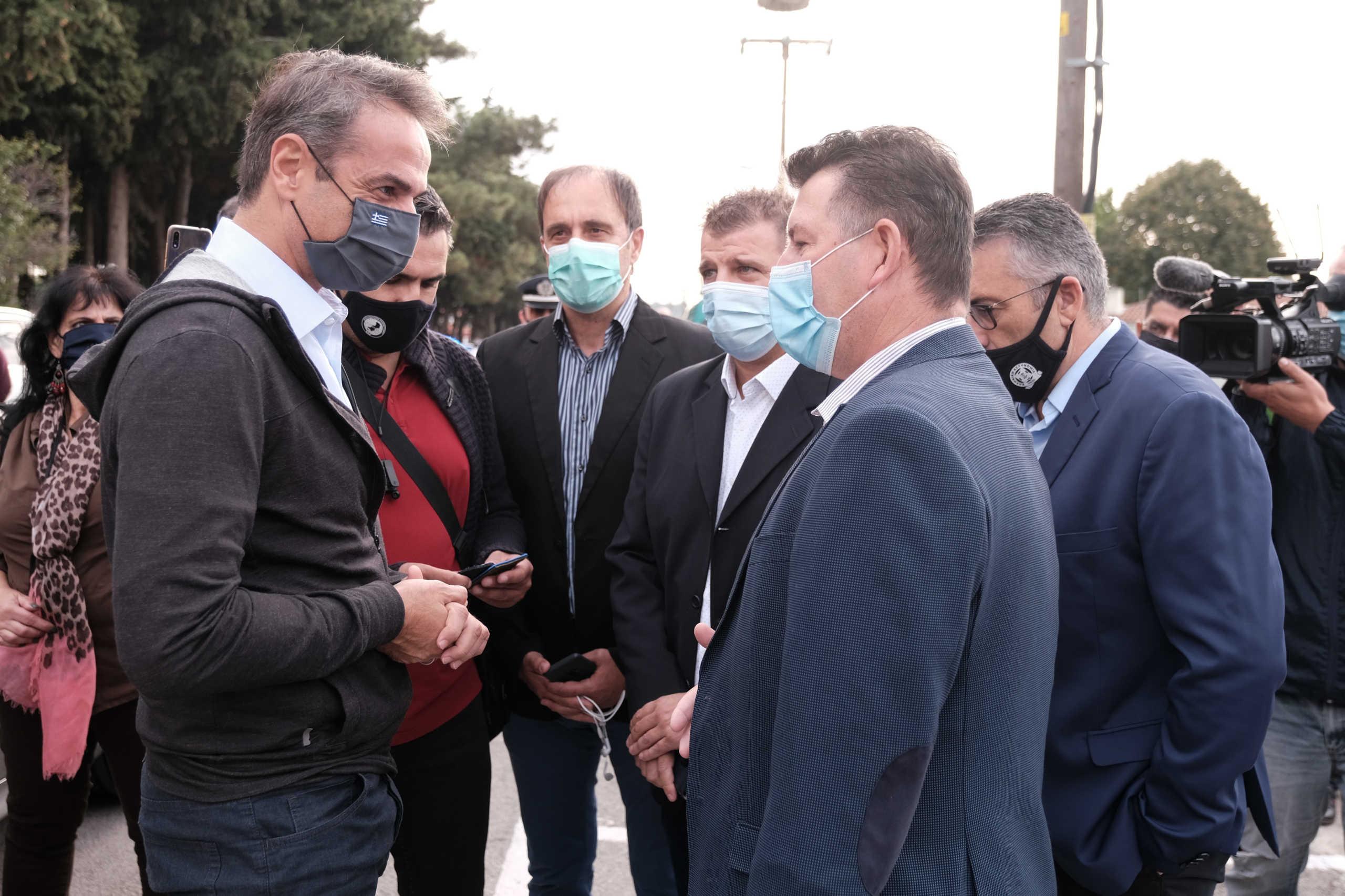 Μητσοτάκης: Ο φράχτης στον Έβρο ήταν το ελάχιστο που μπορούσε να κάνει η κυβέρνηση (pics)